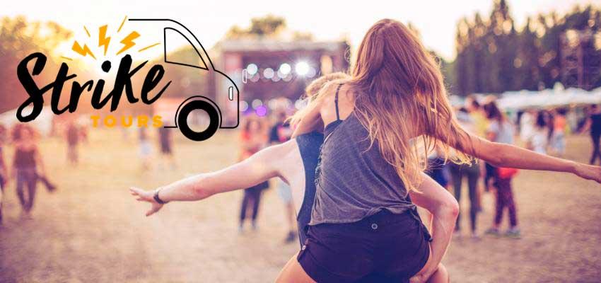 A Strike Tours é especializada em Excursões de Autocarro para Concertos e Festivais