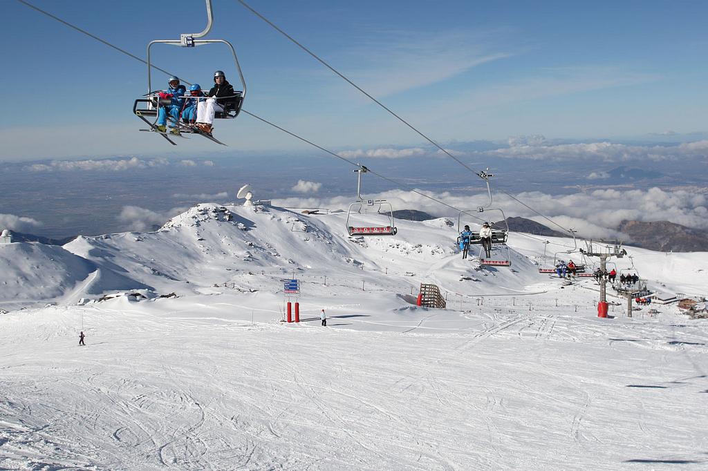 Serra Nevada cresce até 110,4 km de pistas de esqui